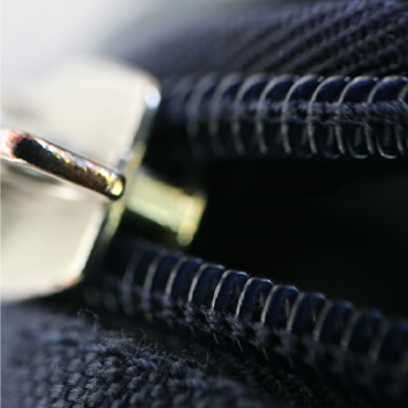 Coil Zipper with Slider