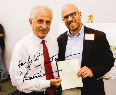Senator Bob Corker Congratulates Dunlap Industries for 50 Years in Business